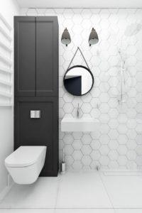 Декор небольшого туалета