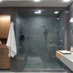 Дизайн современной ванной с душевой