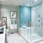 Идея ванной комгаты с душевой