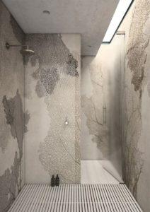 Оформление ванной виниловыми обоями