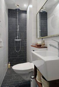 Плитка в оформлении туалета