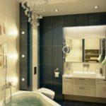 Вариант дизайна небольшой ванной