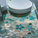 Декор столешницы мозаикой