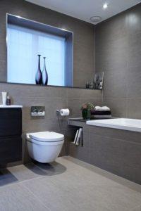 Интерьер совмещенной ванной с туалетом