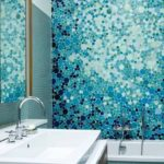 Оформление ванной мозаикой