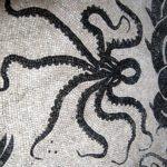 Осьминог из каменной мозаики