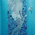Русалка из мозаики