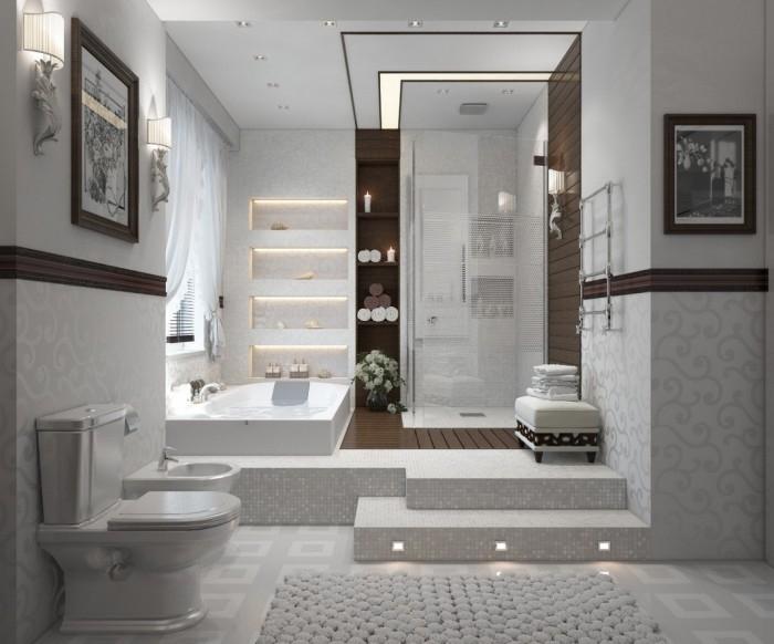Совмещенная ванная с туалетом