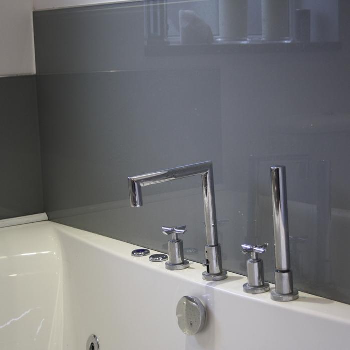 Стеновая панель в ванной