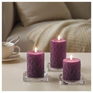 НЬЮТНИНГ Формовая свеча ароматическая