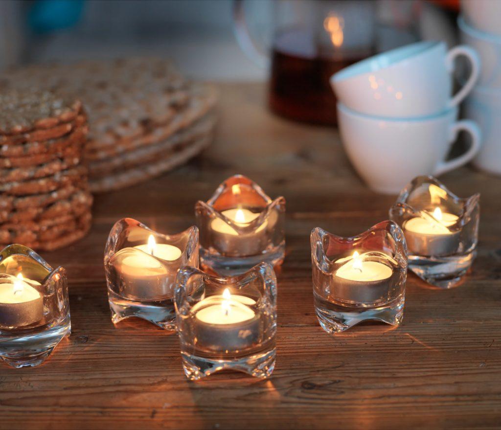 Подсвечник для греющей свечи