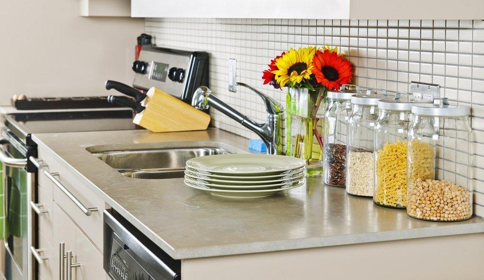 Фото систем хранения на кухне Икеа-2