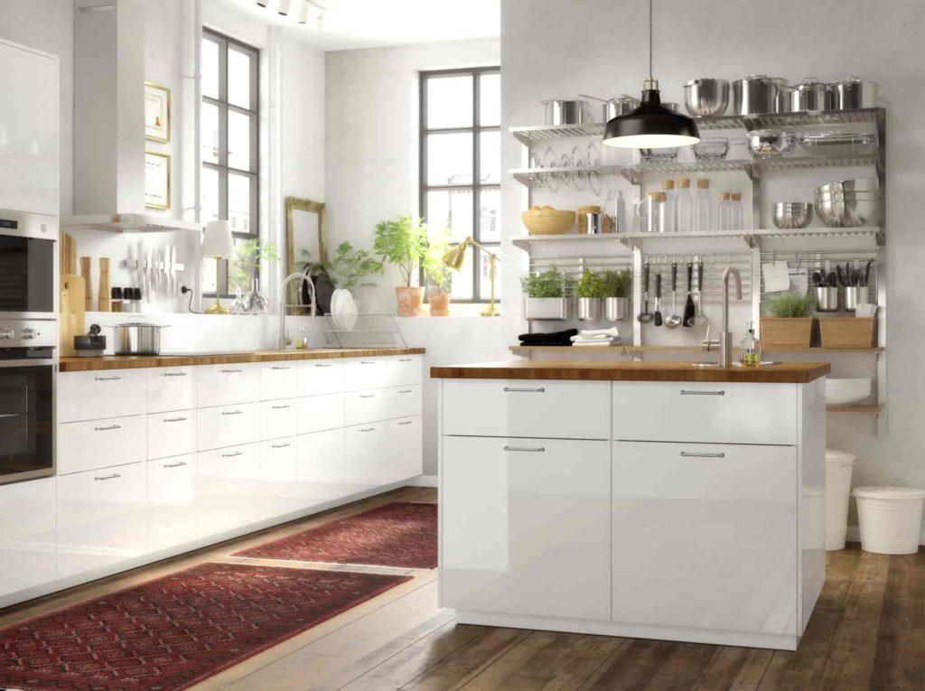 Воксторп кухня белая--3