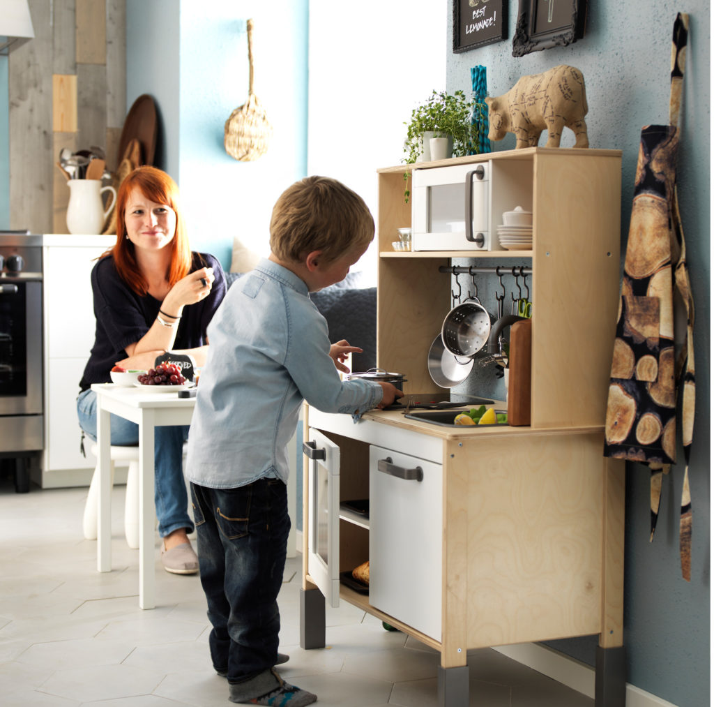 Детская кухня ДУКТИГ в ИКЕА