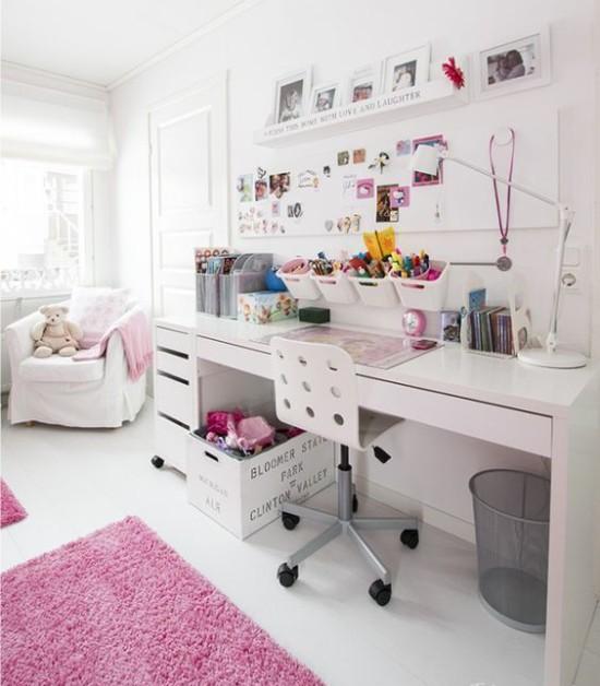 Белая-детская-мебель-Икеа-в-интерьере