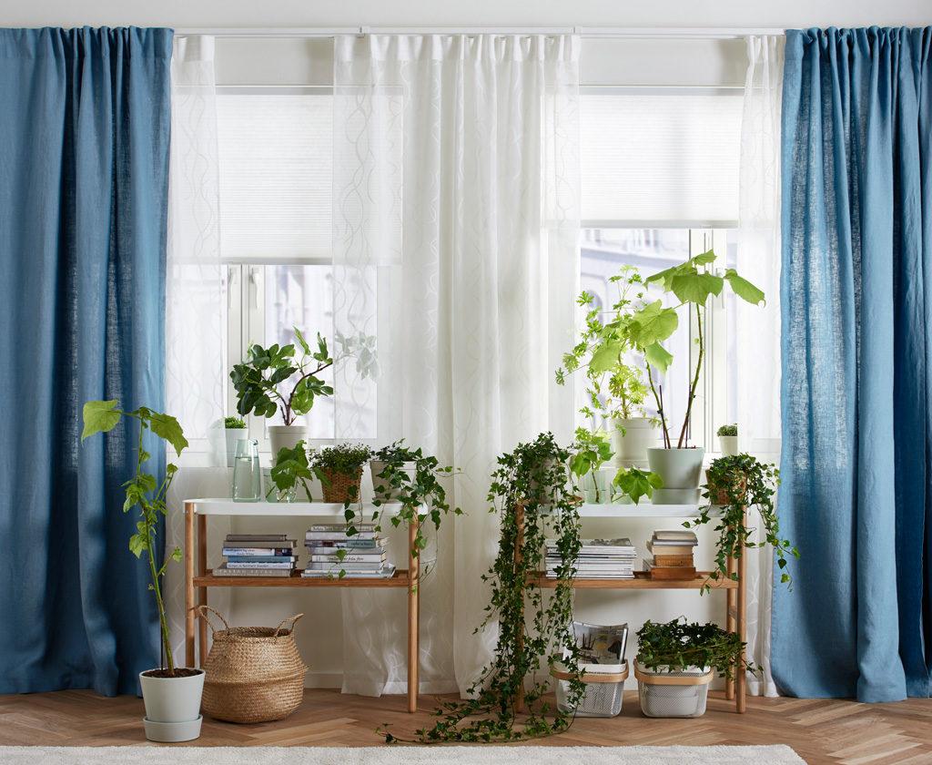 Shtory-i-gardiny-IKEA-v-interere-komnaty